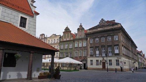 Antigua Plaza del Mercado de Poznan