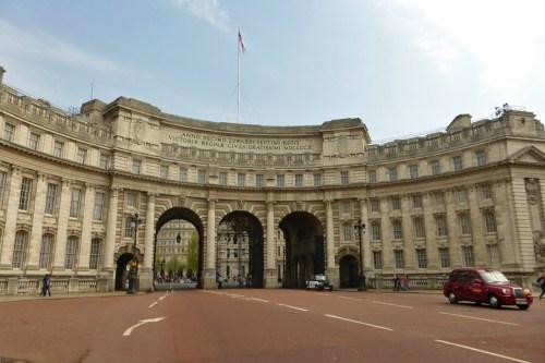 Arco del Almirantazgo, inicio de la calle The Mall