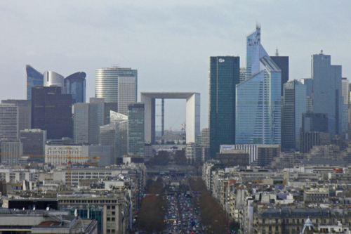 Gran Arco de la Defensa, el más moderno de los arcos y puertas de París