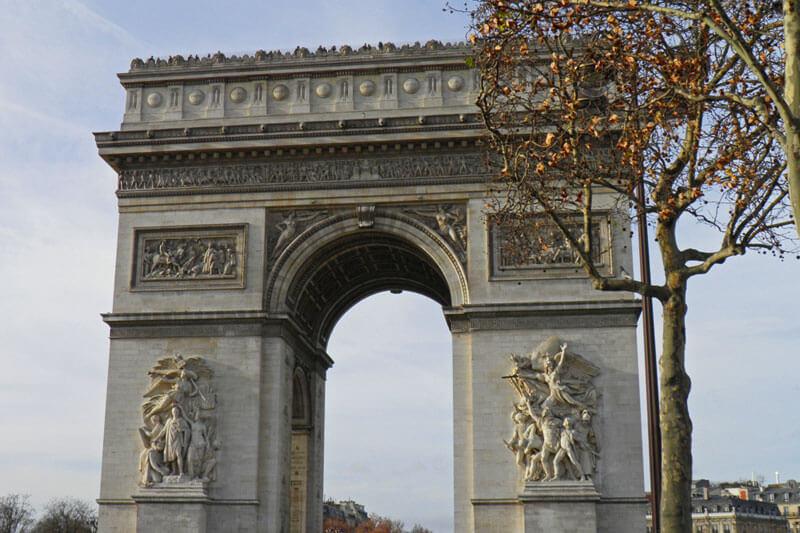 Arcos Y Puertas De Paris Arco Del Triunfo Arco Del Carrusel Y
