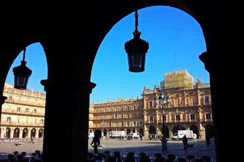 Plaza Mayor de Salamanca, una de las más bellas y armoniosas de España