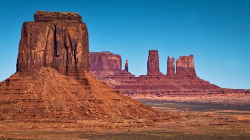 Vistas de Monument Valley desde Artist's Point