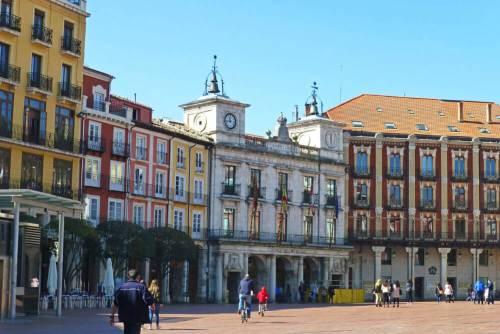 Ayuntamiento de Burgos, el principal edificio de la Plaza Mayor
