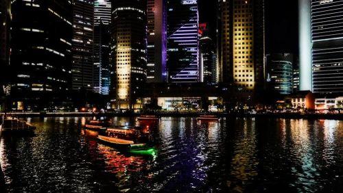 Barcas tradicionales, una de las formas más pintorescas de moverse por Singapur