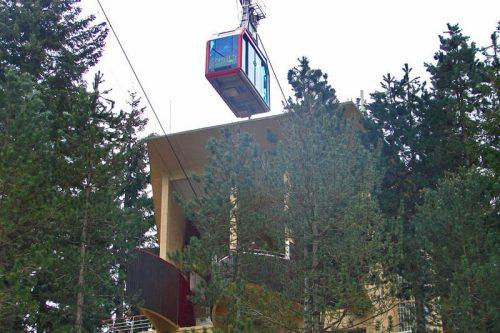 Estación Base del Teléferico de Fuente Dé