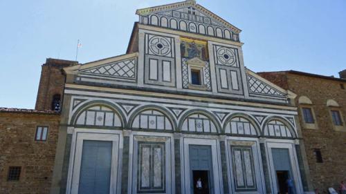 Basílica de San Miniato del Monte, una de las iglesias más antiguas de Florencia