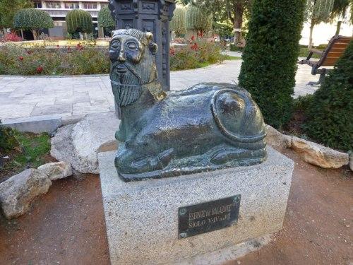 Réplica de la Bicha de Balazote, escultura ibérica encontrada en los alrededores de Albacete