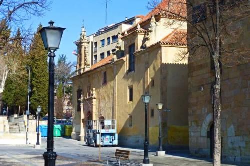 Capilla de la Veracruz, propiedad de la cofradía más antigua de Salamanca