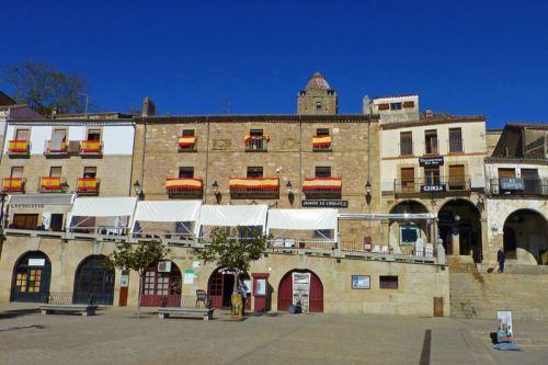 Casa de las Cadenas en la Plaza Mayor de Trujillo