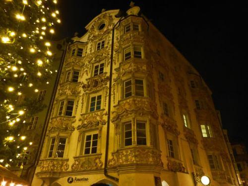 Casa Helbling, uno de los edificios más bellos del casco histórico de Innsbruck