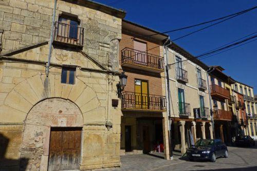 Casa de Miñano, uno de los principales edificios civiles de Turégano