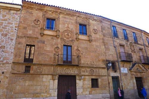 Casa de las Muertes, uno de los edificios civiles más singulares de Salamanca