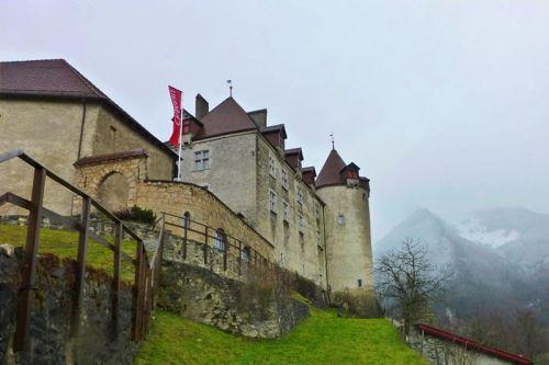 Castillo de Gruyeres, actualmente convertido en museo