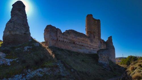 Castillo de Fuentidueña, construido por la Orden de Santiago