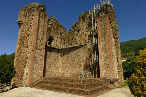Castillo de Don Nuño en Valverde de la Vera