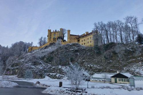 Castillo de Hohenschwangau, una joya del estilo neogótico alemán
