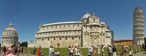Baptisterio, Catedral y Torre Inclinada de Pisa