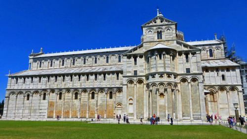 Catedral de Pisa, una joya de estilo románico