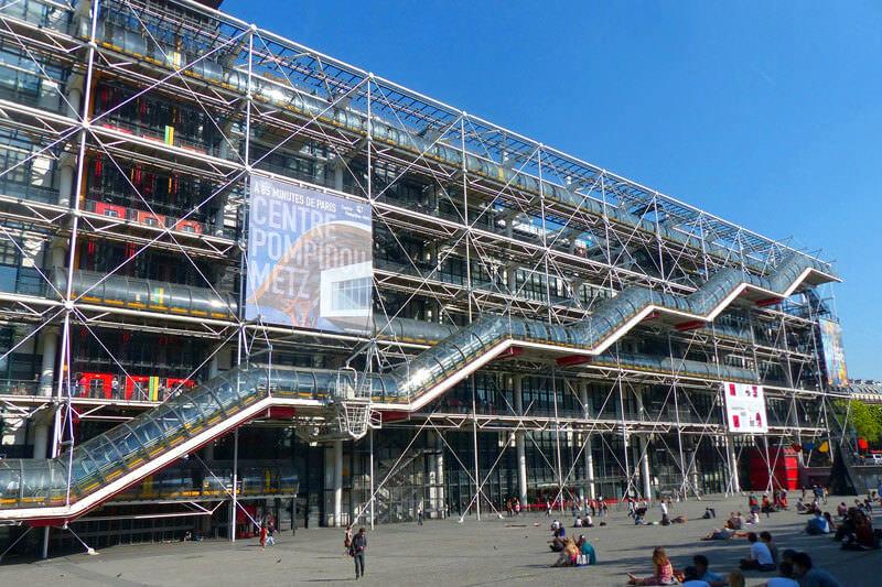 Resultado de imagen para centro pompidou