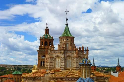 Cimborrio mudéjar de la Catedral de Teruel