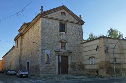 Convento de San José en Ocaña, en su interior se encuentra el sepulcro de Alonso de Ercilla y Zúñiga