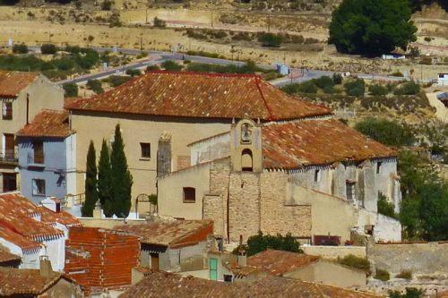 Convento de Santa Ana, uno de los edificios religiosos de Chinchilla de Montearagón