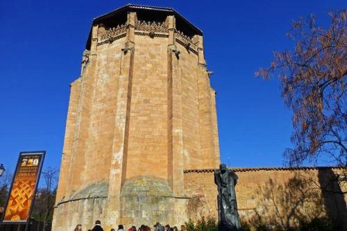 Ábside gótico del Convento de las Úrsulas