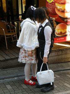 Pareja de cosplay en Harajuku