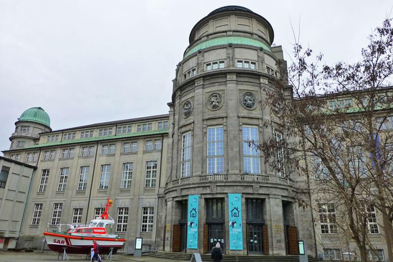 Deutsches Museum, uno de los museos más visitados de Múnich