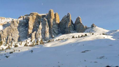 Fenómeno de la enrosadira en las Dolomitas