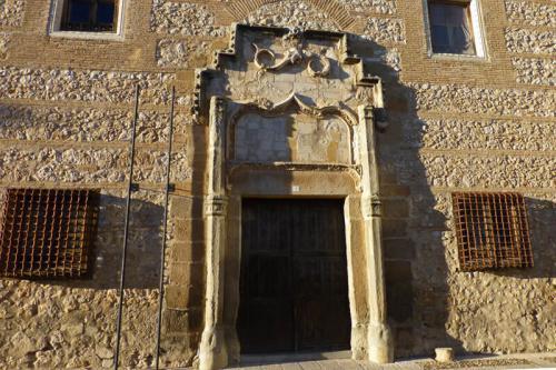 Portada y rejas del Palacio de los Cárdenas en Ocaña