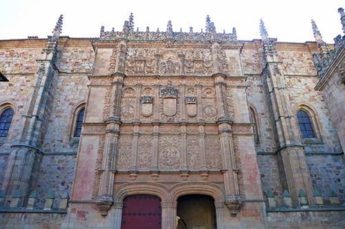Escuelas Mayores, el edificio más emblemático de la Universidad de Salamanca