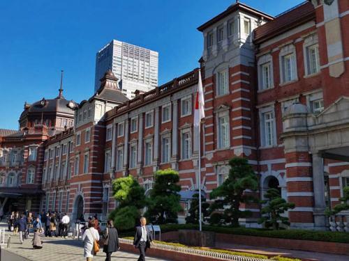 Estación de Tokio, desde aquí parten todas las líneas de shinkansen