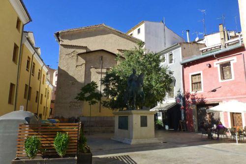 Estatua ecuestre del rey Alfonso VIII, conquistador de Cuenca