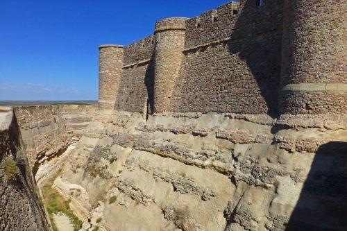 Foso del Castillo de Chinchilla de Montearagón