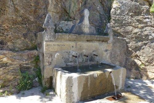 Fuente típica de los pueblos de La Vera