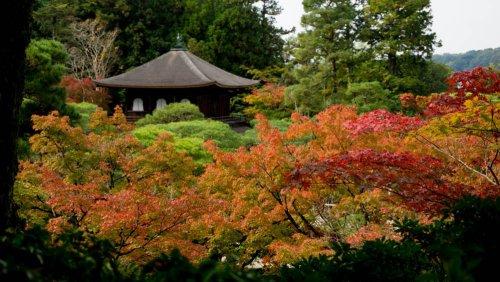 Ginkaku-ji o Pabellón de Plata, uno de los templos más bellos de Kioto