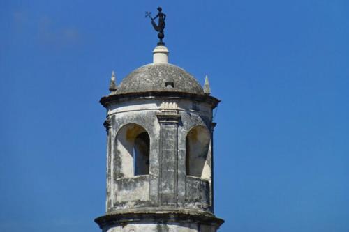 La Giraldilla sobre la Torre de la Espera en el Castillo de la Real Fuerza de La Habana