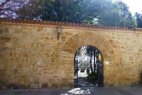 Entrada al Huerto de Calixto y Melíbea, uno de los rincones más pintorescos de Salamanca
