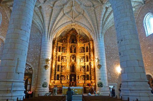 Retablo Mayor de la Iglesia de Santa María del Campo
