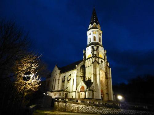 Basílica de la Visitación, una de las iglesias más bellas de Annecy