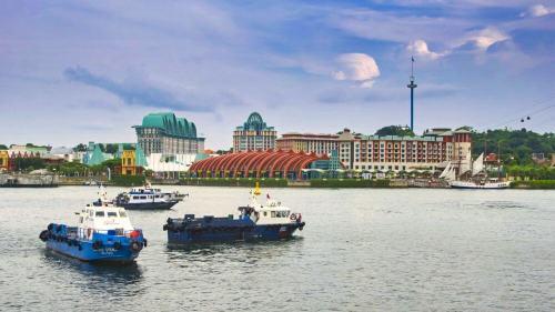 Isla Sentosa, uno de los principales atractivos turísticos de Singapur