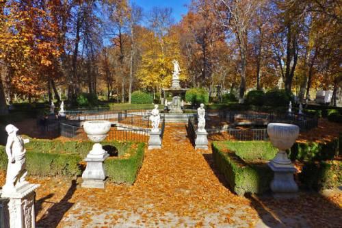 Jardín de la Isla en el Palacio Real de Aranjuez