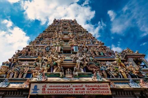 Sri Kailasanathar Swamy Devasthanam, uno de los templos hinduistas de Colombo