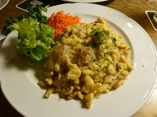 Kässpätzel, uno de los platos tradicionales de la gastronomía de Stuttgart
