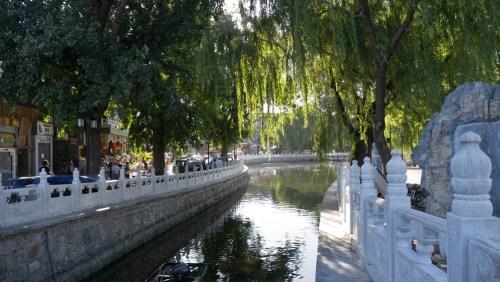 Lagos Shichahai en Pekín, parques de Pekín
