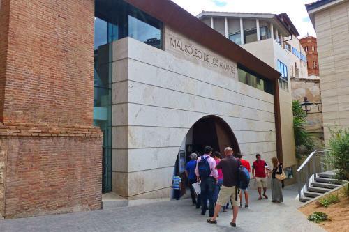 Entrada al Mausoleo de los Amantes de Teruel