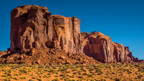 Meseta en Monument Valley