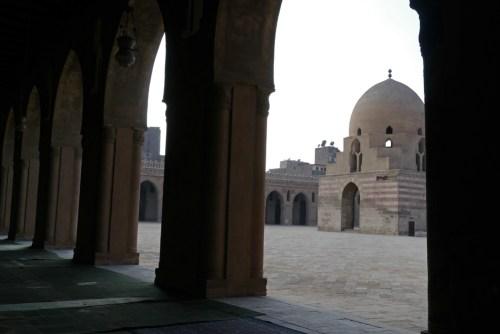 Mezquita de Ibn Tulun en El Cairo