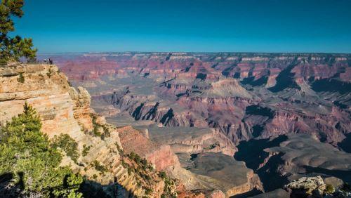 Mirador sobre el Gran Cañón del Colorado
